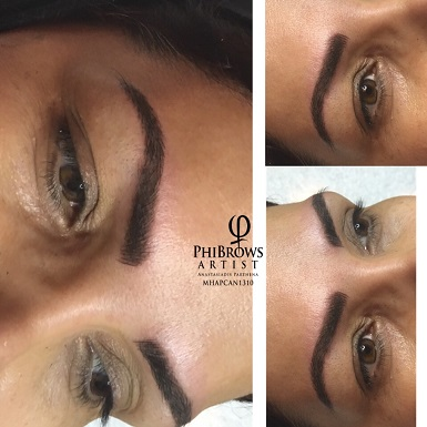 Brows Microbladed